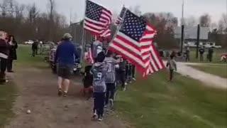A team and their patriotism