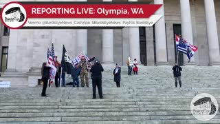 Third National Stop the Steal Rally: Olympia Washington State Capital