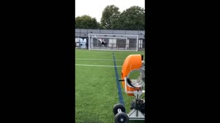 Great goalkeeper saves from a young talent