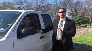 Church security: suspicious vehicle approach