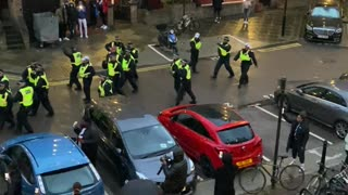 Block Party Altercation with Police in London