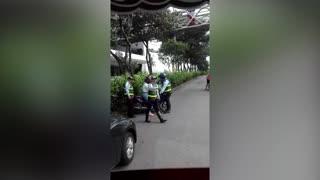 Video: En gresca terminó operativo de Tránsito en Bucaramanga