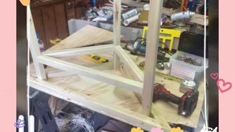 Corner Table build