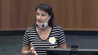Alachua County School Board Meeting 5/4/21 - Michelle