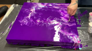 Purple Base Dutch Pour