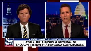 Sen. Hawley Outlines Plan to Break Up Big Tech Companies