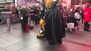 Robot of Times Square