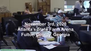 Obvious poll worker voting fraud