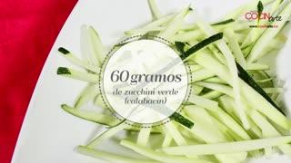 Receta Cocinarte: Vegetales al wok con pollo