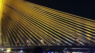 King Rama 9 Bridge in Bangkok