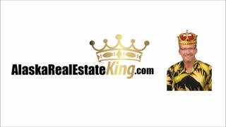 Alaska Real Estate King Drawn Logo Long