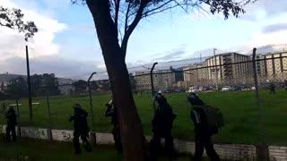 Helicóptero llega a la cárcel la Picota