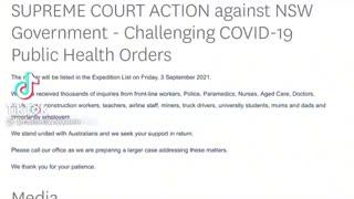 FINALLY AUSTRALIAN SUPREME COURT TAKES ACTION