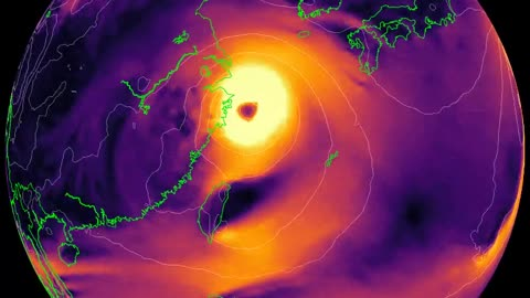 200 million people in #China brace for Typhoon In-Fa's landfal