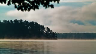 Morning Mist Time Lapse (Free to Use HD Stock Video Footage)
