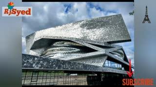 Paris Driving around    Philharmonic    France