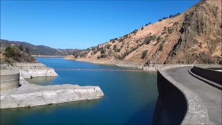 California drought continues to diminish Lake Berryessa water levels