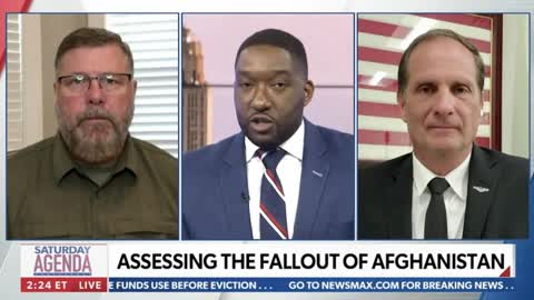 Rep. Crawford talks Afghanistan with Newsmax
