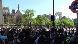COVID 19 VS BLACK LIVES MATTER LONDON 31/05/2020