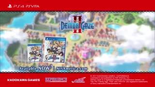 Demon Gaze 2 Official Launch Trailer