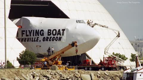 How the Spruce Goose was Moved to Oregon
