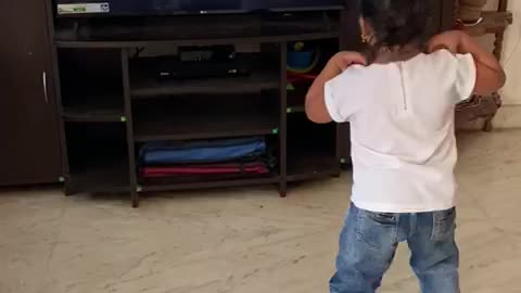 A girl who dances with a girl on television