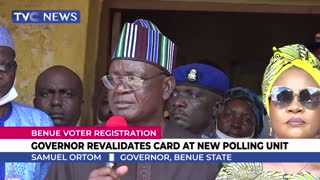 Governor Ortom Welcomes New PDP Members
