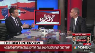 Eric Holder questions;When was America ever great?