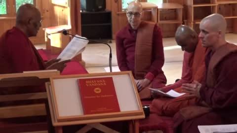 Jayantha's Upasampada - The Birth of Bhikkhu Jayasāra