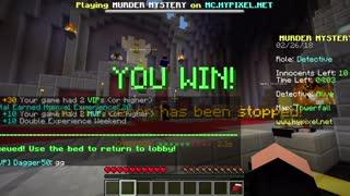 Minecraft Murder Mystery Epic 30 Sec. Win