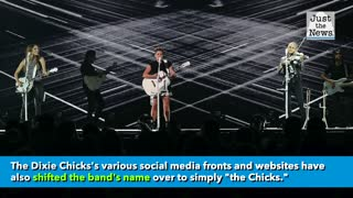 Dixie Chicks change their name to just 'The Chicks'
