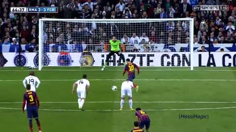 No Tap-ins! ►10 Unique Ways Messi Destroyed Real Madrid !