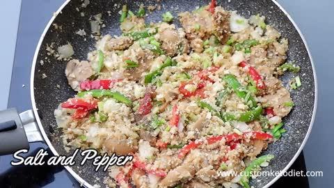 Keto Easy Cauliflower Rice