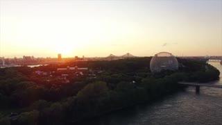 Drone View City