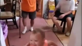 Baby Ask grandfather