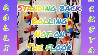 Standing back rolling