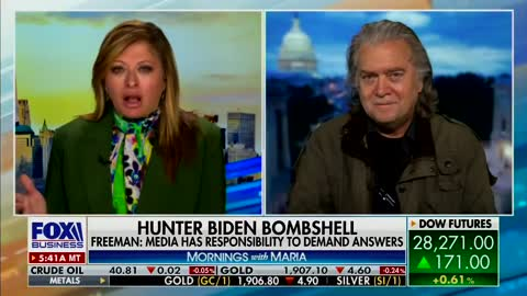 """Steve Bannon on Hunter Biden: There's """"Much More"""" Coming Out Before Debate"""