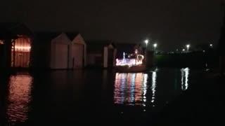Christmas yacht