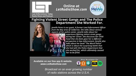 Fighting Violent Street Gangs and The Police Department She Worked For.