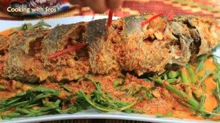 Yummy Water Mimosa Lake Fish Recipe - Water Mimosa Cooking With Fish