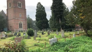 Strange vision caught on camera inside ancient cemetery