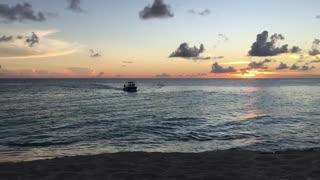 Maho Beach sunset 🌅 view