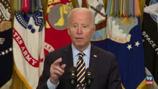 Joe Biden forgets what he's talking about while talking about Afghanistan