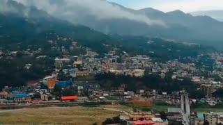 Beautiful view bagh city Azad Kashmir