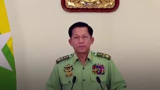 Myanmar's military leader Min Aung Hlaing
