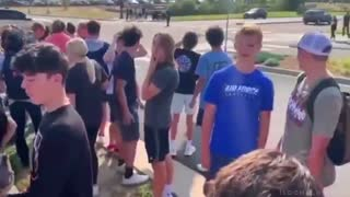 Colorado High School Students Walk Out Of Class For Mask Protest