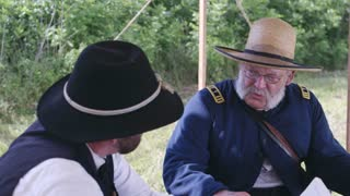 General Grant speaking