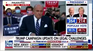 "Giuliani on Election Lawsuits: ""We're Not Gonna Let Them Get Away With This"""