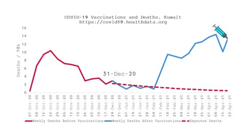 Auswirkungen der Impfkampagnen auf die Sterberaten