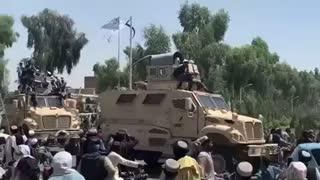 Sickening: Taliban Parade With Biden's $ 80 Billion GIFT Of Military Equipment!